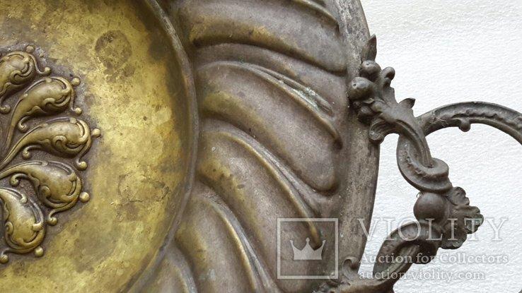 Фруктовница бронзовая Фраже, фото №8