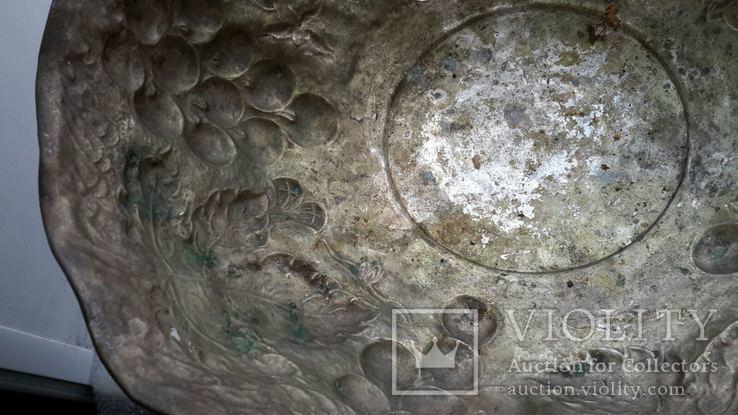 Фруктовница посеребрённая Индия, фото №13