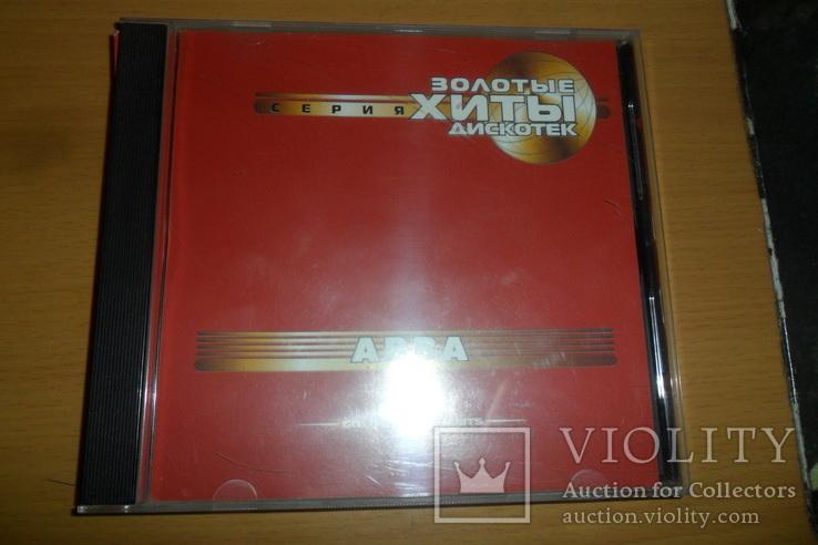 Диск CD сд Abba Golden Disco Hits / Абба Золотые хиты дискотек, фото №2