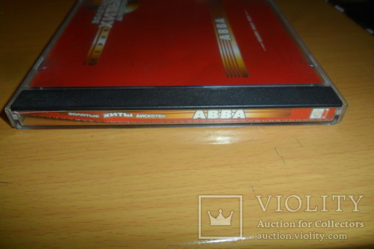 Диск CD сд Abba Golden Disco Hits / Абба Золотые хиты дискотек, фото №3