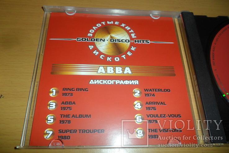 Диск CD сд Abba Golden Disco Hits / Абба Золотые хиты дискотек, фото №6