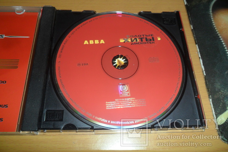 Диск CD сд Abba Golden Disco Hits / Абба Золотые хиты дискотек, фото №7