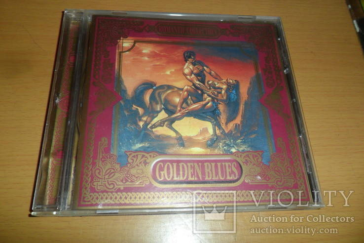 Диск CD сд Golden Blues . Romantic collection . Made in Germany, фото №2