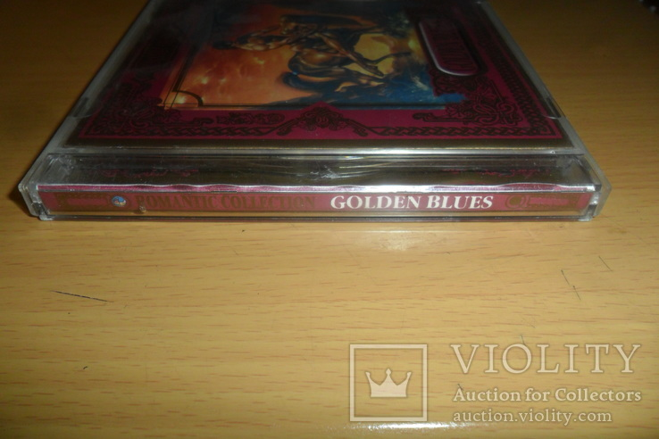 Диск CD сд Golden Blues . Romantic collection . Made in Germany, фото №3