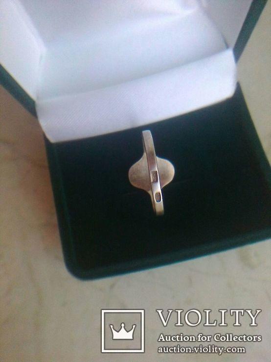Перстень СССР срібний р.18, фото №6