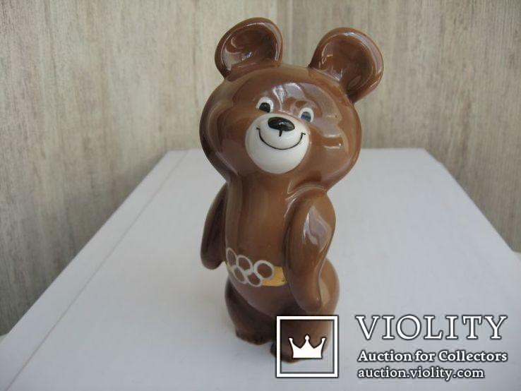 Статуэтка Олимпийский мишка  (Дулево), фото №2