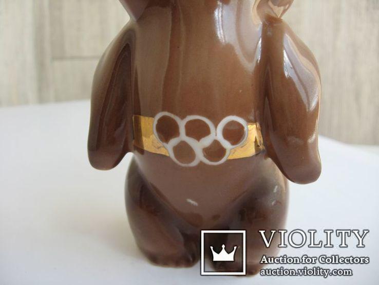 Статуэтка Олимпийский мишка  (Дулево), фото №4