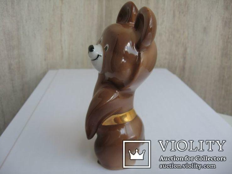 Статуэтка Олимпийский мишка  (Дулево), фото №5