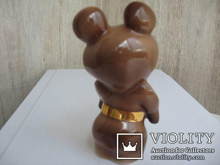 Статуэтка Олимпийский мишка  (Дулево), фото №6