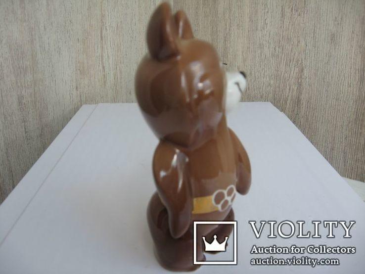 Статуэтка Олимпийский мишка  (Дулево), фото №7