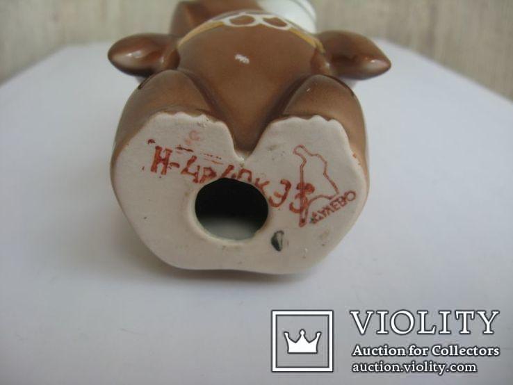 Статуэтка Олимпийский мишка  (Дулево), фото №8