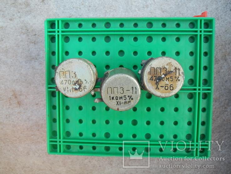 Резистор переменный ПП3-11 (3 шт), фото №6