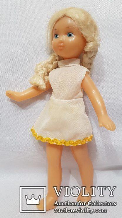 Кукла СССР паричковая Ворошиловградская фабрика игрушек 70-е года Ворошиловград 28 см, фото №2