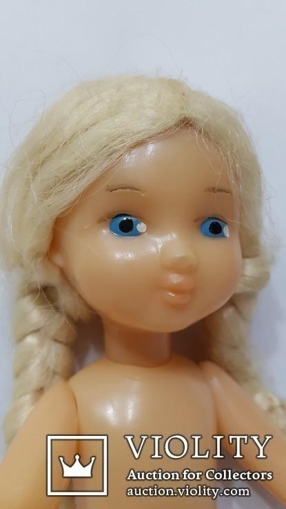 Кукла СССР паричковая Ворошиловградская фабрика игрушек 70-е года Ворошиловград 28 см, фото №3