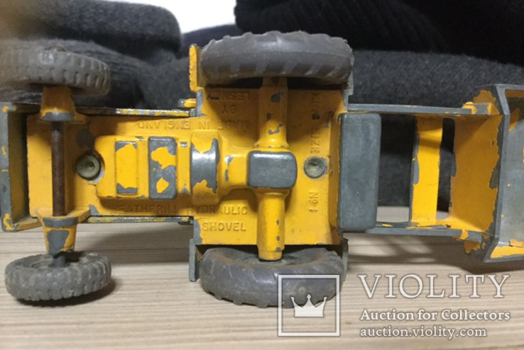 MATCHBOX-LESNEY King Size Weatherill Hydraulic Shovel, No 1, фото №5