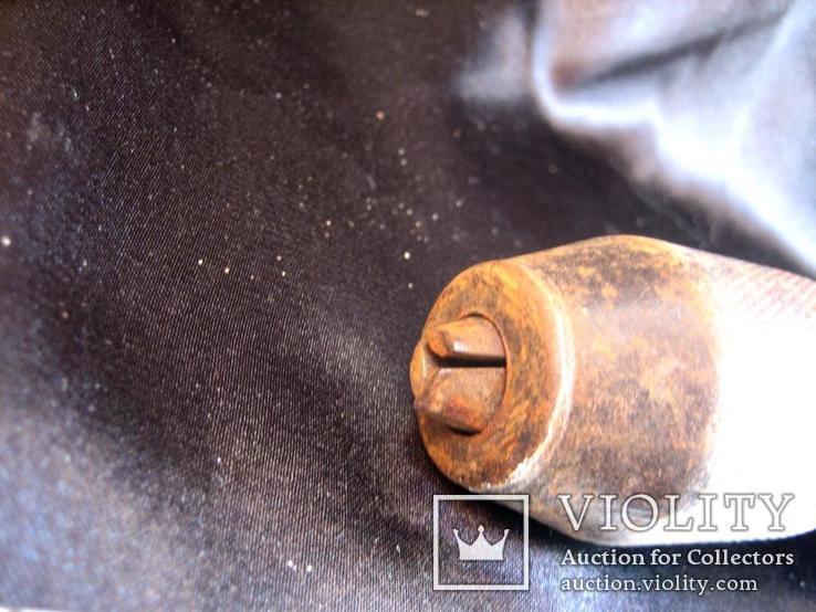 Стара механічна дрель з клеймом, фото №7