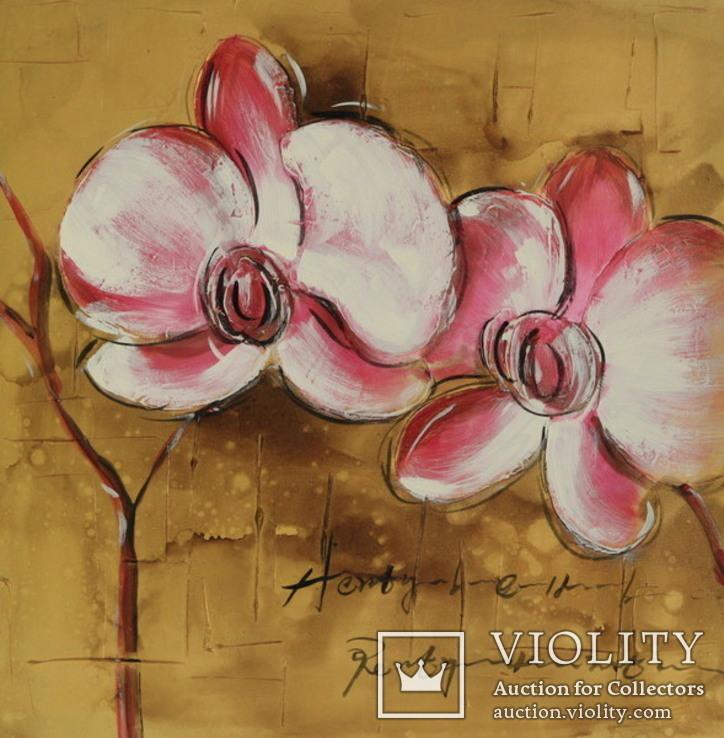 Орхидеи. 60Х60см.