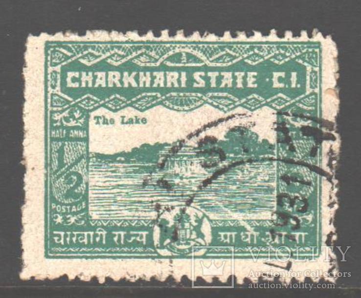 Брит. Индия. Чаркхари. 1931. Архитектура, 1/2 а., гаш.
