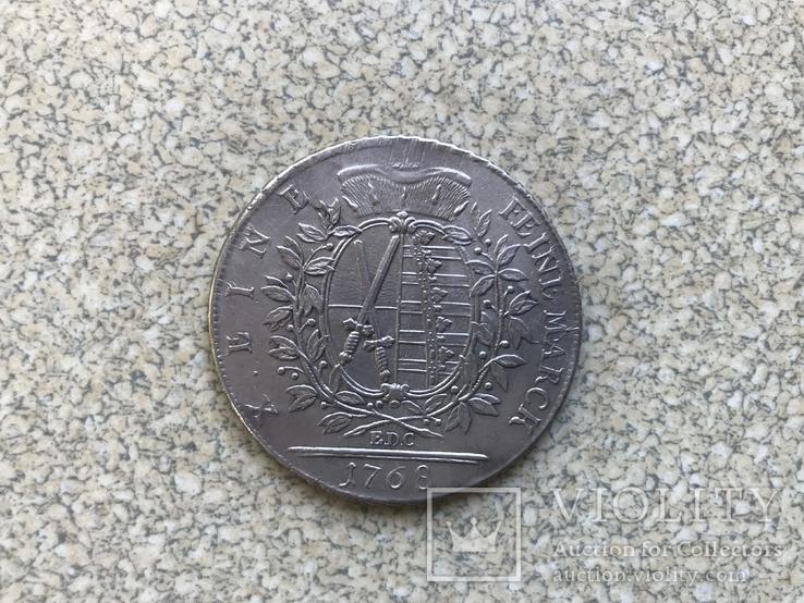Саксонія -1 талер, фото №3