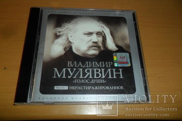 Диск CD сд Владимир Мулявин (Песняры) - Голос души. Нерастиражированное часть 1, фото №2