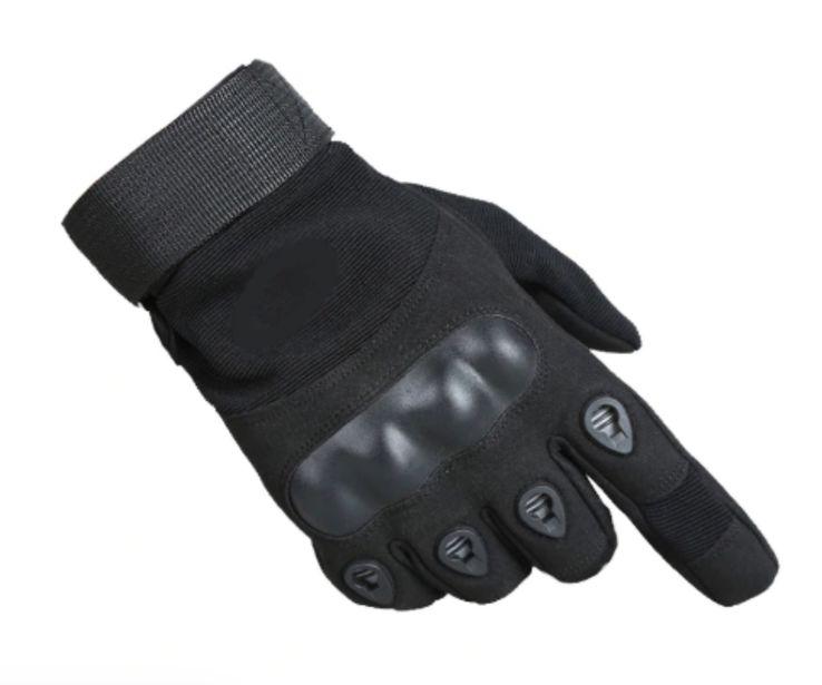 Тактические перчатки. Черные (A-384)