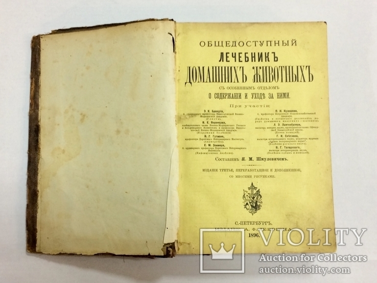 Лечебник домашних животных 1896 г, фото №4