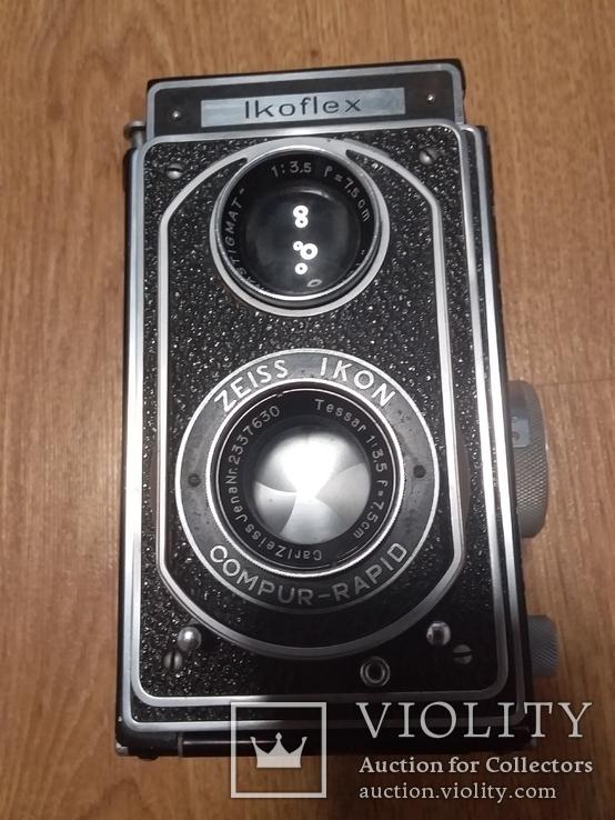 Довоенный фотоаппарат Carl Zeiss, фото №2