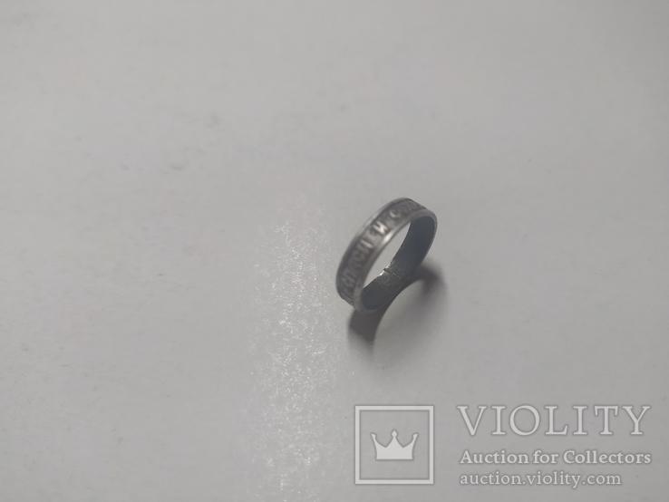 Кольцо серебряное старое., фото №2