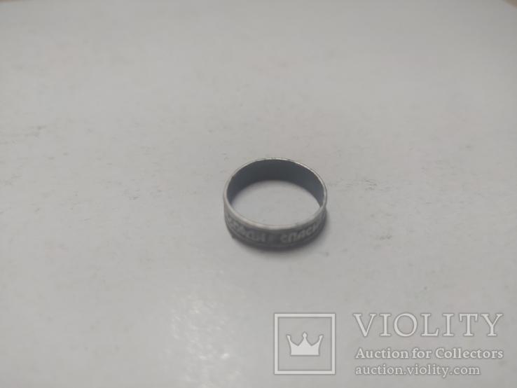 Кольцо серебряное старое., фото №5