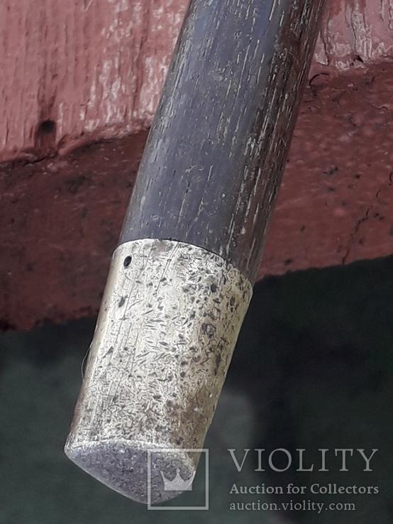 Красивая, солидная трость, рукоять серебро, Китай, L = 90 cm, фото №13