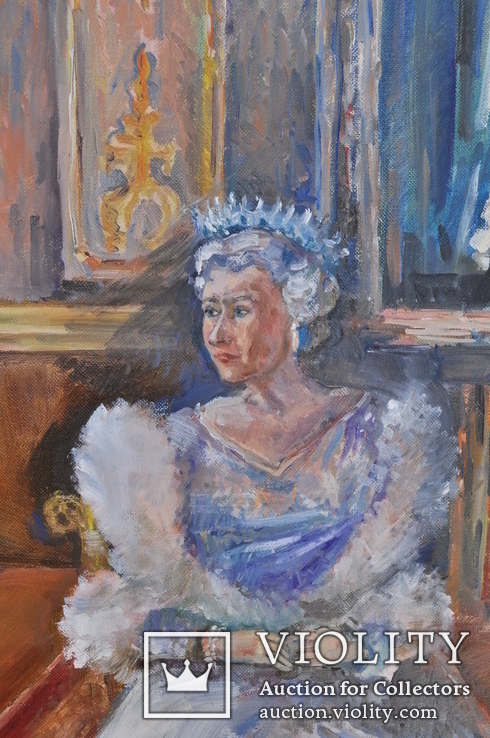 Королева во дворце. 80Х100см., фото №7