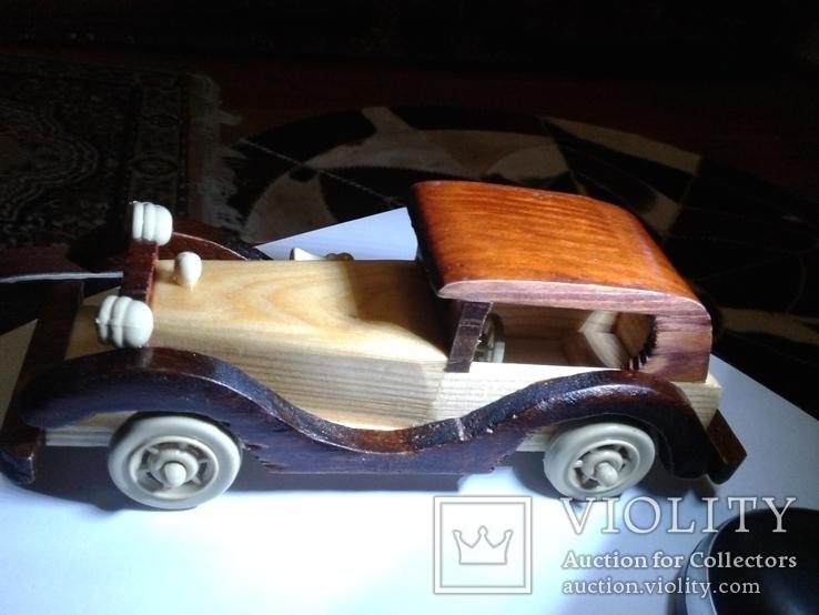 Автомобіль   деревяний, фото №4