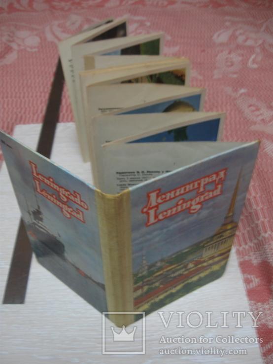 Ленинград, набор открыток, книжка-гармошка, 60-е года, СССР, фото №3