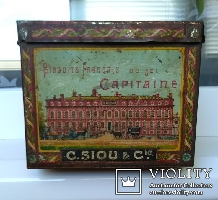 Коробка Французское печенье с солью КАПИТЭНЪ, фото №5