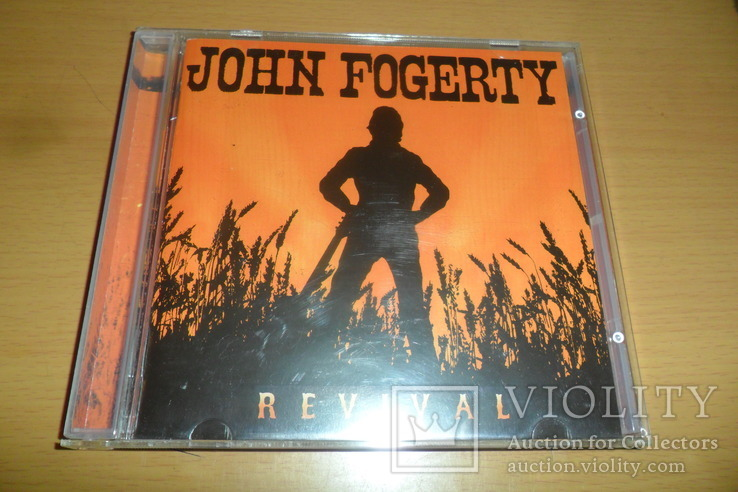 Диск CD сд John Fogerty ‎– Revival