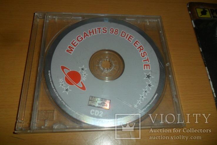 Диск CD сд Megahits 98 DIE ERSTE CD2, фото №2