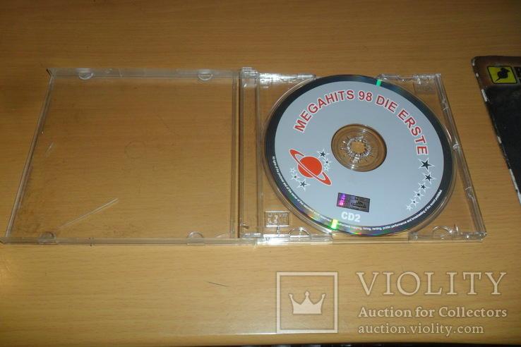 Диск CD сд Megahits 98 DIE ERSTE CD2, фото №3