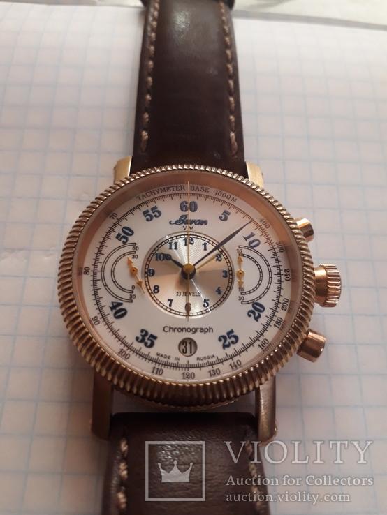 Часы хронограф Buran, фото №3