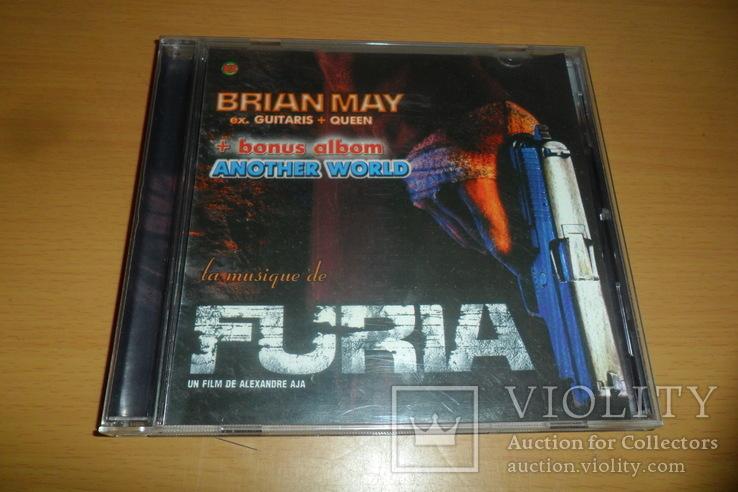 Диск CD сд BRIAN MAY - FURIA ex.Guitaris + Queen, фото №2