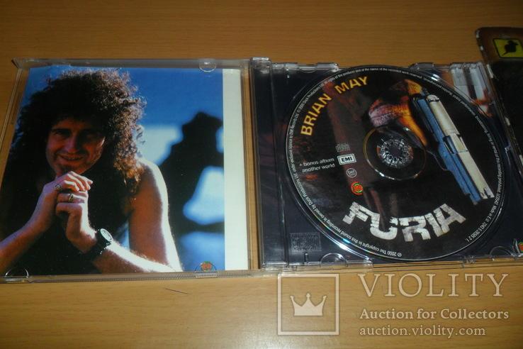 Диск CD сд BRIAN MAY - FURIA ex.Guitaris + Queen, фото №5