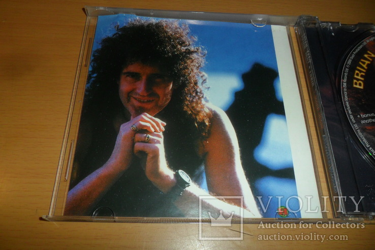 Диск CD сд BRIAN MAY - FURIA ex.Guitaris + Queen, фото №6