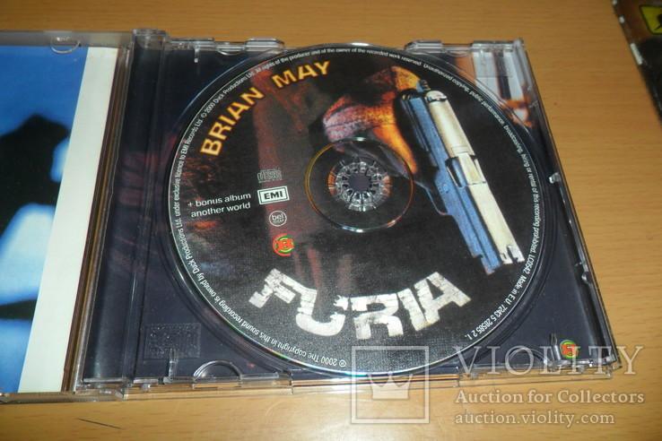 Диск CD сд BRIAN MAY - FURIA ex.Guitaris + Queen, фото №7