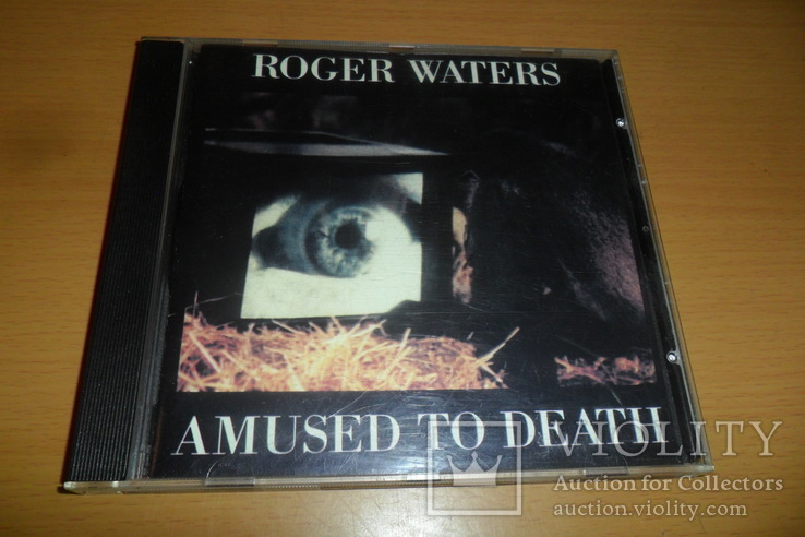 Диск CD сд Roger Waters.Amused To Death., фото №2