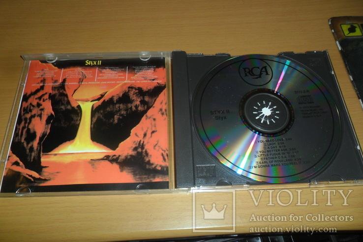 Диск CD сд Styx – Styx II, фото №5