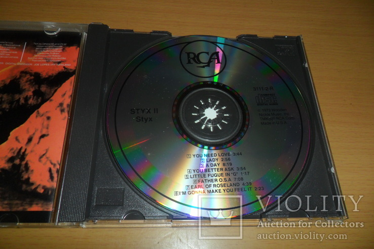 Диск CD сд Styx – Styx II, фото №7