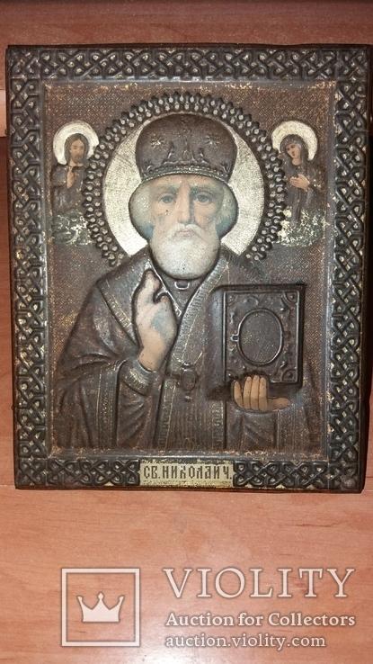 Св Николая Чудотворца 14 на 18см, фото №3