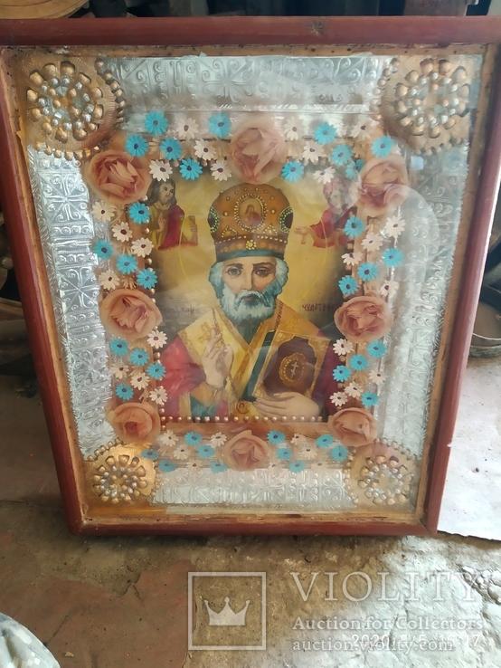 Икона Николай Чудотворец 2, фото №2