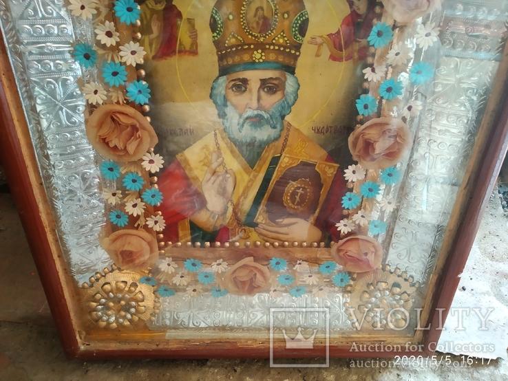 Икона Николай Чудотворец 2, фото №4