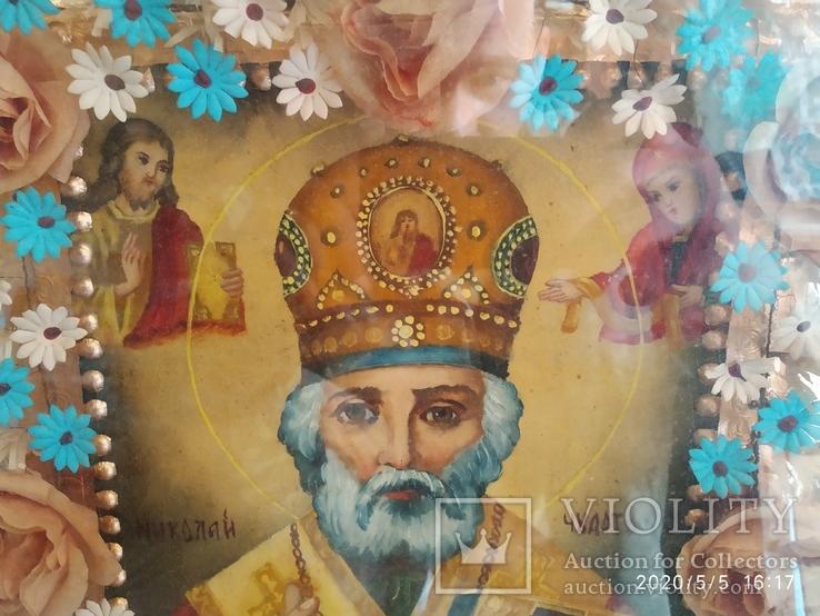Икона Николай Чудотворец 2, фото №5