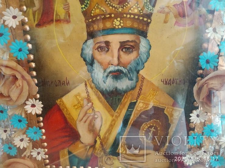 Икона Николай Чудотворец 2, фото №6